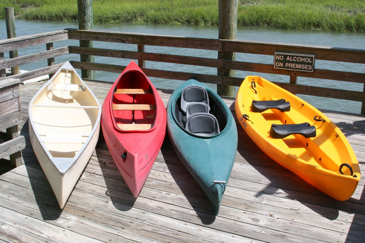 Canoe Rentals And Hybrid Boats Jarvis Creek Water Sports