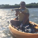 2015/5_First fish of 2015 in NuCanoe fishing rental